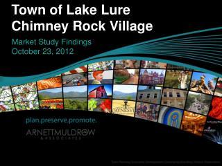 Town of Lake Lure Chimney Rock Village