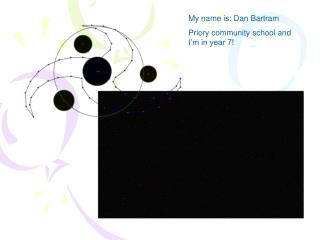 My name is: Dan Bartram Priory community school and I'm in year 7!