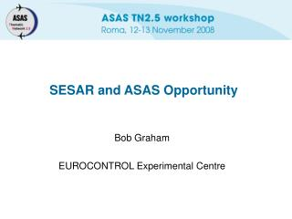SESAR and ASAS Opportunity