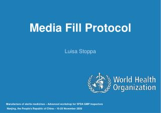 Media Fill Protocol