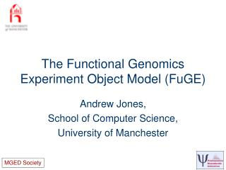 The Functional Genomics Experiment Object Model (FuGE)