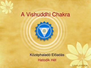 A Vishuddhi Chakra