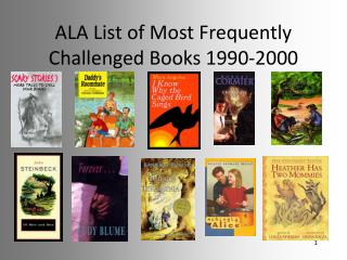 ALA List of Most Frequently Challenged Books 1990-2000