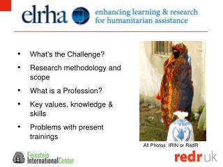 What's the Challenge? Research methodology and scope What is a Profession? Key values, knowledge & skills Problems with