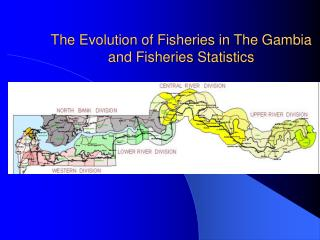 The Evolution of Fisheries in The Gambia and Fisheries Statistics