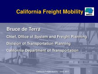 California Freight Mobility