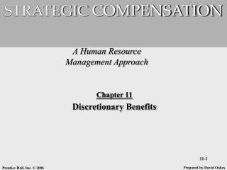 A Human Resource Management Approach