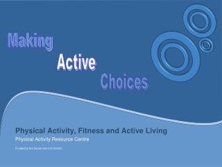 Physical Activity, Fitness and Active Living Physical Activity Resource Centre Funded by the Government of Ontario