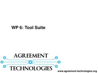 WP 6:  Tool Suite