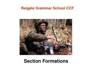 Reigate Grammar School CCF