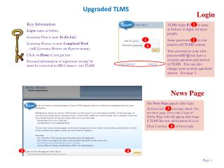 Upgraded TLMS