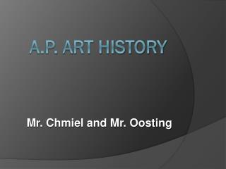 A.P. ART HISTORY