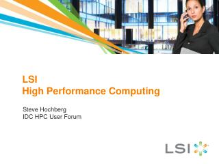 LSI High  Performance Computing