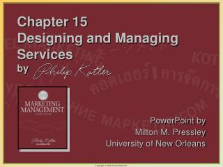 Chapter 15  Designing and Managing Services by