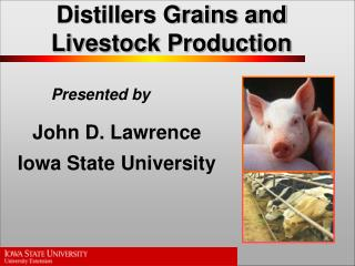 Distillers Grains and Livestock Production