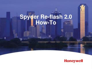 Spyder  Re-flash 2.0 How-To