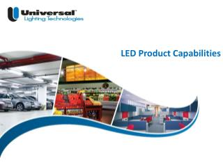 LED Product Capabilities