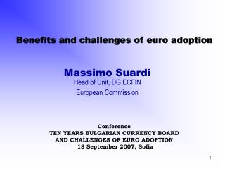 Benefits and challenges of euro adoption
