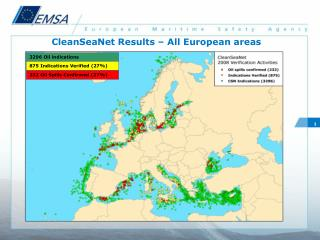 CleanSeaNet Results – All European areas