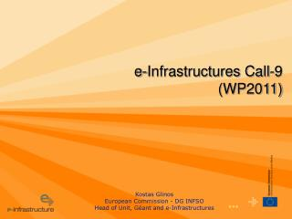 e-Infrastructures Call-9 (WP2011)