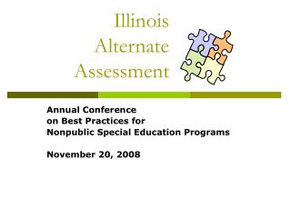 Illinois  Alternate  Assessment