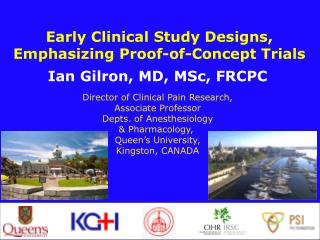 Early Clinical Study Designs, Emphasizing Proof-of-Concept Trials