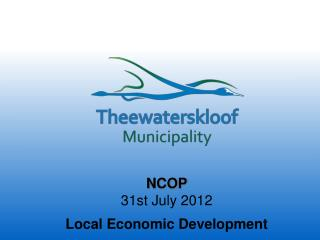 NCOP  31st July 2012  Local Economic Development
