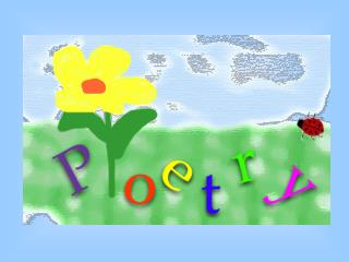 """Introduction to Poetry"" by Billy Collins I ask them to take a poem and hold it up to the light like a color slide or p"