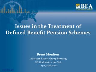 Issues in the Treatment of Defined Benefit Pension Schemes