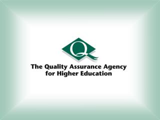 Quality assurance considerations in work- based learning provision