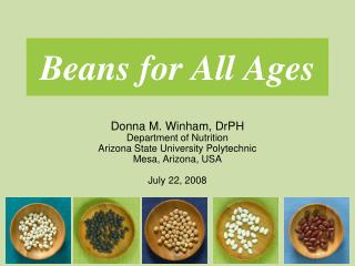 Beans for All Ages