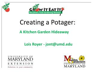 Creating a Potager: