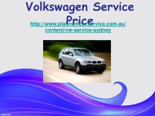 Volkswagen Service Price