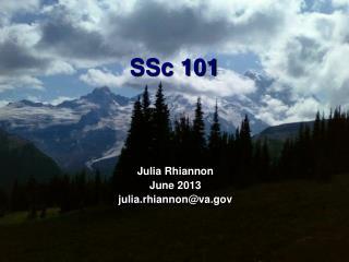 SSc  101