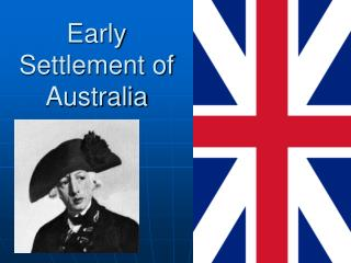Early Settlement of Australia