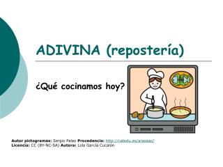 ADIVINA (repostería)