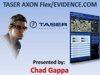 Presented by:  Chad Gappa