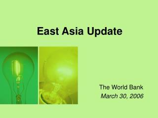 East Asia Update