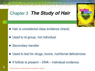Chapter 3   The Study of Hair