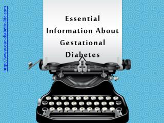 Facts About Gestational Diabetes