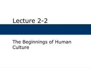 Lecture 2-2