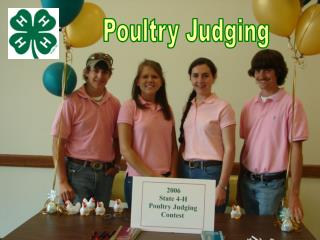 Poultry Judging