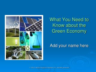 What You Need to Know about the Green Economy