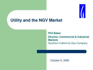 Utility and the NGV Market