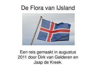 De Flora van IJsland