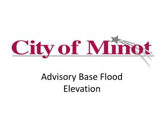 Advisory Base Flood Elevation