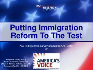 Putting Immigration Reform To The Test