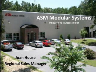 ASM Modular Systems Innovations in Access Floor