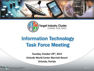 Information Technology Task Force Meeting