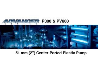 "51 mm (2"") Center-Ported Plastic Pump"